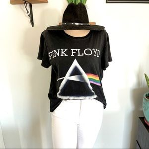 PINK FLOYD DARK SIDE OF THE MOON GRAPHIC T SHIRT